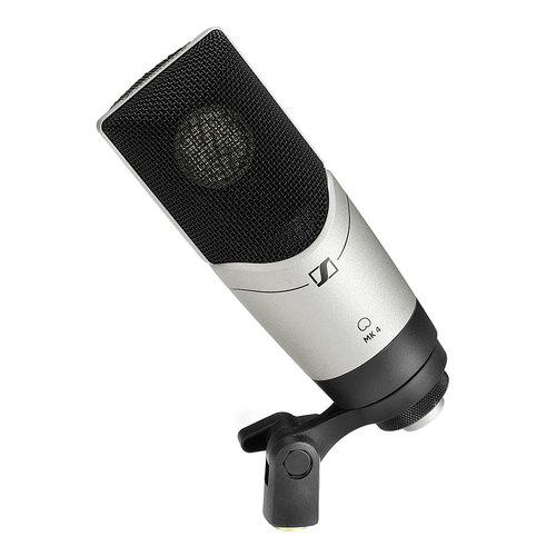 MK4 电容录音麦克风 工作室/录音获奖产品 专业录音主播直播K歌人声乐器话筒【德国原装进口】