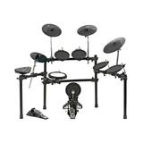 红魔(HXM) HD-010C 6鼓4镲电子鼓  所有鼓都有边击效果 含鼓棒 踏板