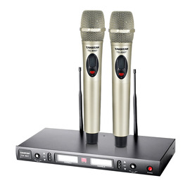 TS-8807 KTV/演出手持式无线动圈麦克风(香槟色)