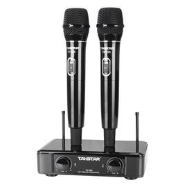 TS-7220 KTV/演出手持式UHF无线动圈麦克风   (黑色)