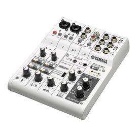 AG06 带声卡小型音乐调音台6进6出