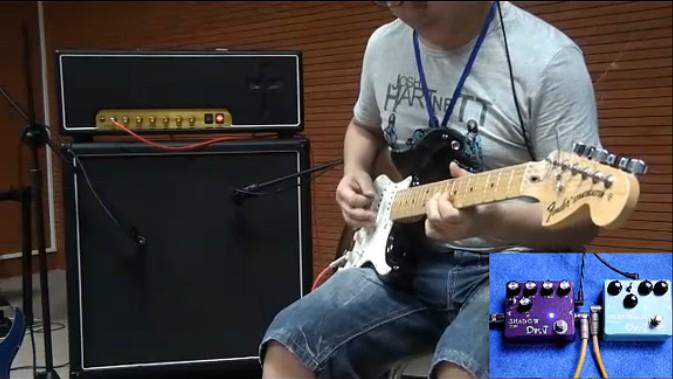 中国另外一个系列电吉他电贝斯单块效果器杀向世界各地-DR.J单块效果器风云德国美国