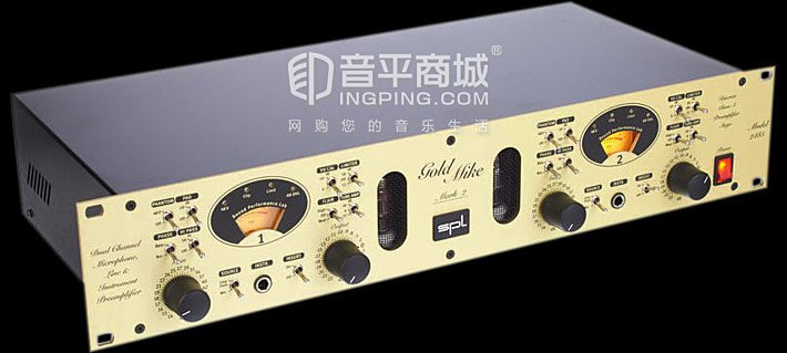 双声道话筒和乐器前级放大器