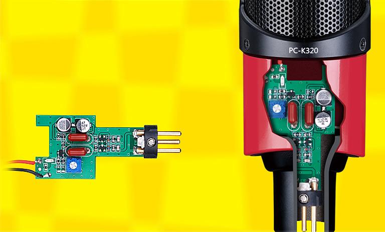 得勝 科聲 得勝科聲 PC-K320 旁述式電容麥克風 電容麥 人聲錄音 樂器錄音 晶體管線路