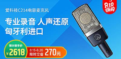 爱科技C214 录音麦克风