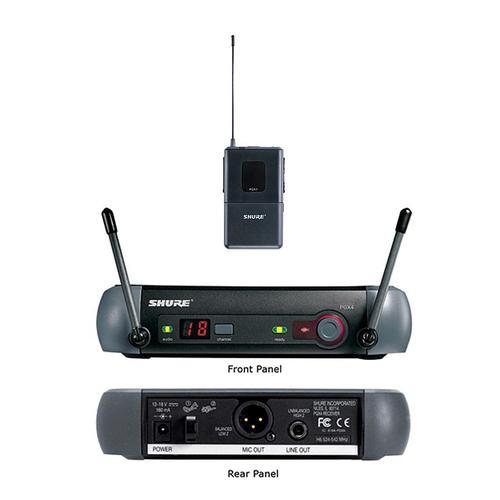 舒尔(SHURE) PGX14/93 KTV/演出领夹式无线电容麦克风