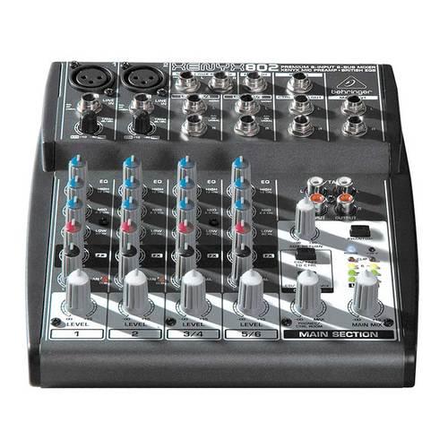 XENYX 802 专业调音台