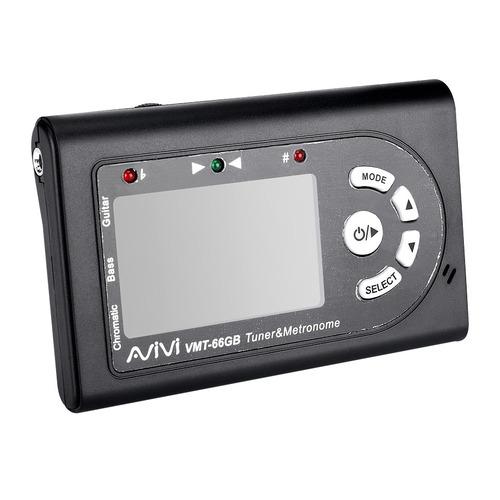 AVIVI VMT-66GB 吉他专用校音器/节拍器两用-内置锂电池