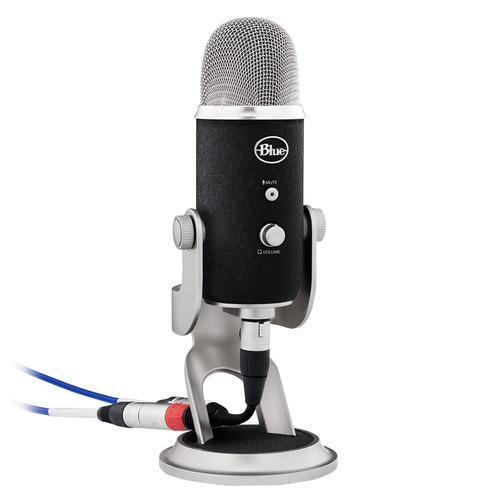 Yeti Pro 专业电容话筒麦克风 K歌录音直播 USB直插麦克风