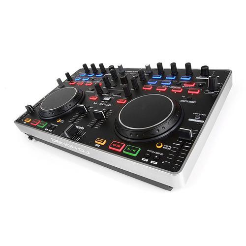 DN-MC2000 2通道面板式DJ MIDI控制器 搭配Serato DJ软件使用