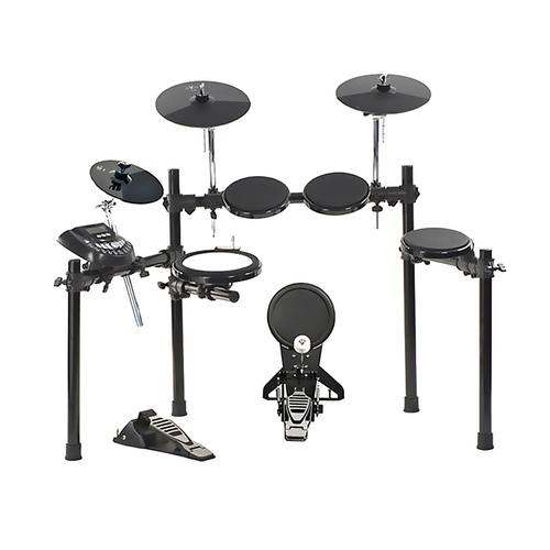 红魔(HXM) HD-008 5鼓3镲电子鼓 军鼓带边击效果 含鼓棒 踏板