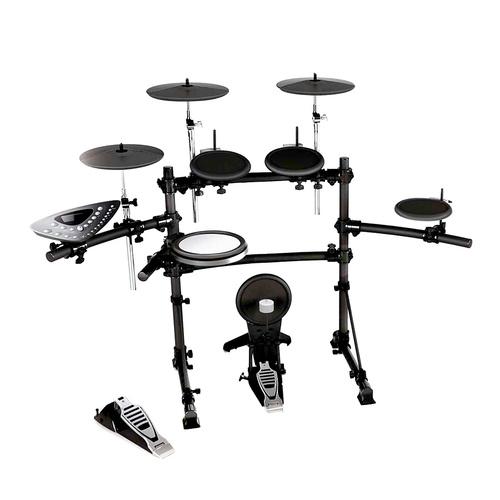 红魔(HXM) HD-010B 5鼓3镲电子鼓  所有鼓都有边击效果 含鼓棒 踏板
