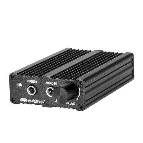 Micro+ 较具性价比便携式耳放 随身耳放 (黑色)