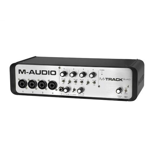 M-Track QUAD-New  专业录音外置USB声卡 4进4出
