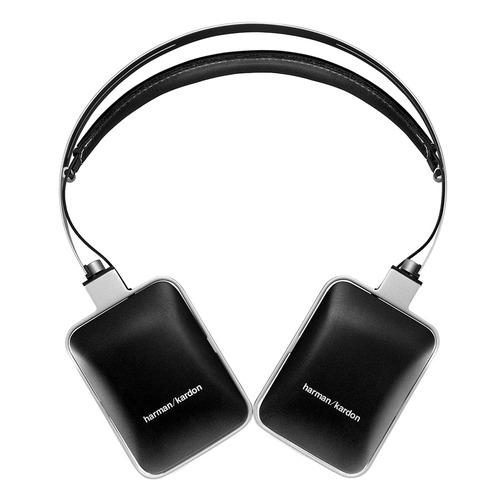 H/K CL 头戴耳机 超凡低音 可折叠 带麦带线控 (黑色)