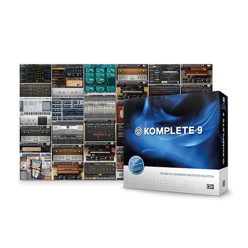 恩艾(native instruments ) KOMPLETE 9 KOMPLETE9 乐器音色效果库 120G容量 音乐制作必备音色