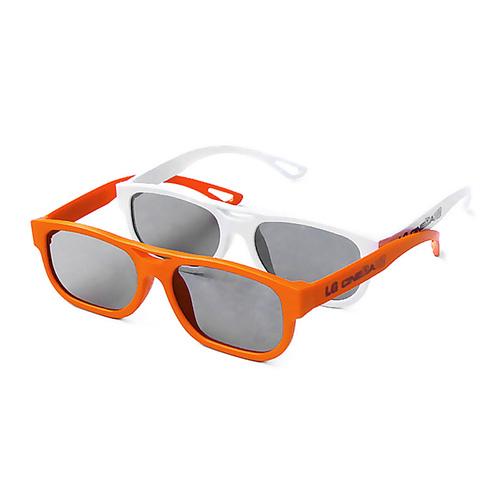 AG-F200 CINEMA 3D偏光式眼镜 (两副装 颜色随机发)