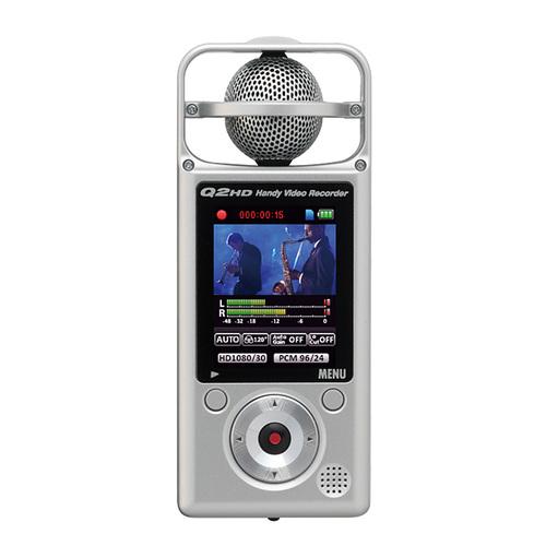ZOOM Q2HD 高音质口袋型摄影/录音机 (银色)