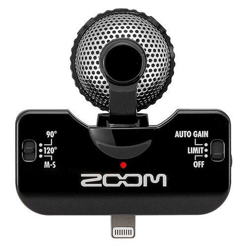 ZOOM iQ5 iphone5  电容式苹果手机K歌麦克风 (黑色)