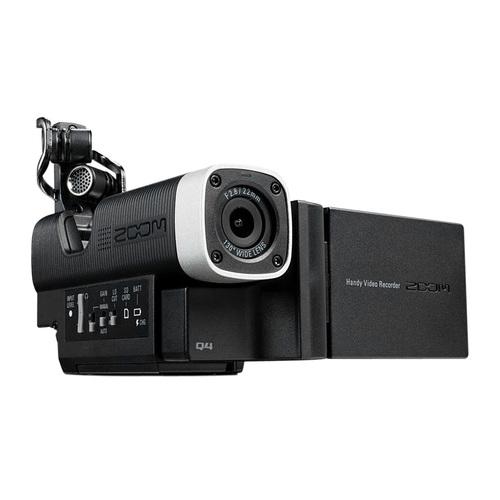 ZOOM Q4 便携式立体声摄像/录音一体机 同期DV摄像录音机