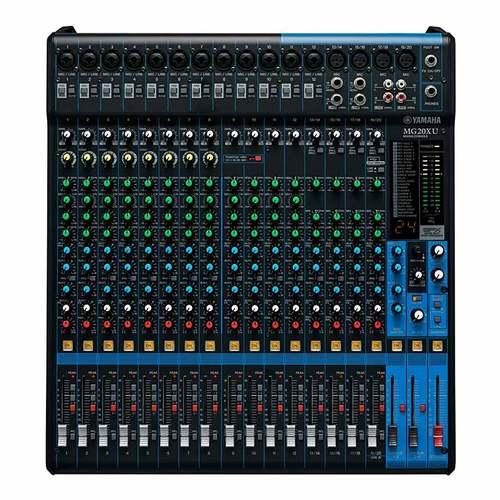 MG20XU 20路带效果器模拟调音台