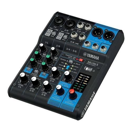 MG06X 6路带效果器模拟调音台