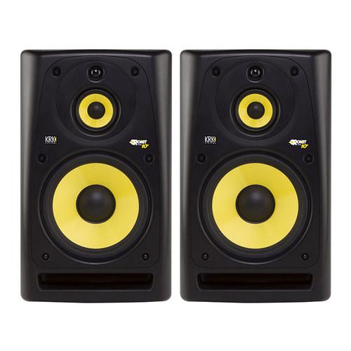 RP103 录音 三分频10寸有源监听音箱(一对装)