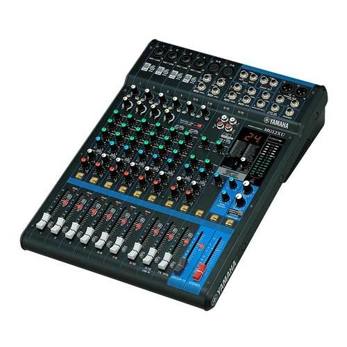 MG12XU 12路带效果器模拟调音台
