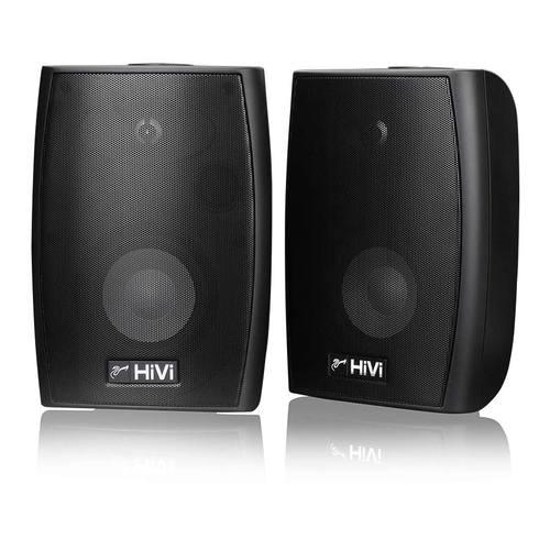 惠威(HiVi) VA4OS  4寸定阻壁挂音响(黑色)