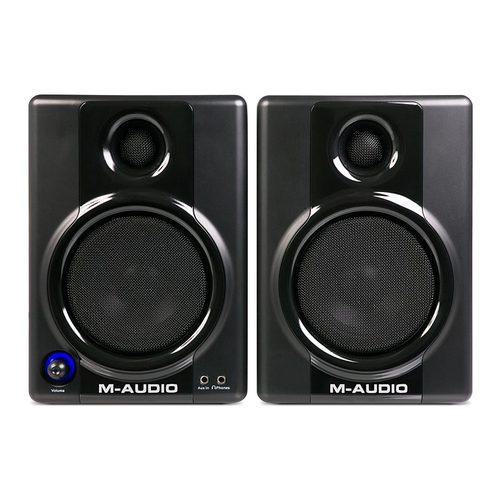 美奥多(M-AUDIO) AV40 4寸 专业级 桌面有源 监听音箱(一对装)