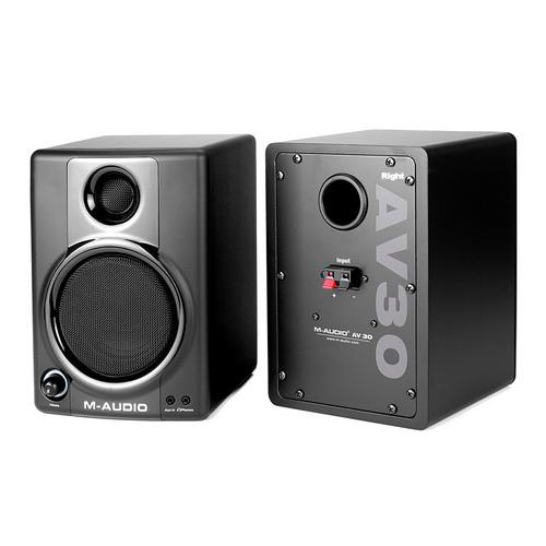 美奥多(M-AUDIO) Studiophile AV30 专业级监听音箱(一对装)