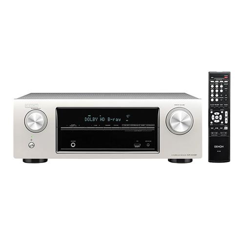 天龙(Denon) AVR-X510 5.2声道AV影院功放  (银色)