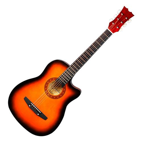 S-1 38寸民谣吉他 缺角 (日落色)