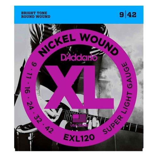 达达里奥(D'Addario) EXL120 美产盒装电吉他琴弦