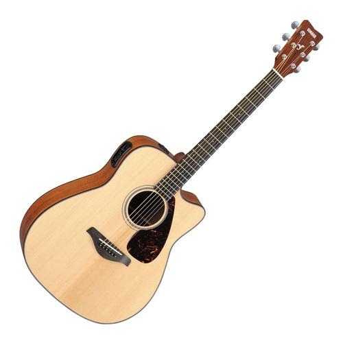 FGX800C 41寸单板民谣电箱木吉他 原木色