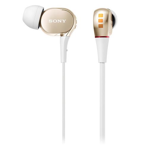 XBA-30 三单元动铁入耳式耳塞 (金色)