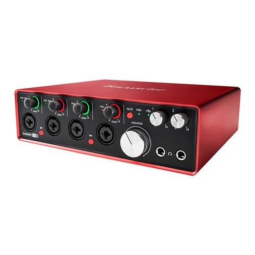 富克斯特(Focusrite) Scarlett 18i8专业录音 USB外置声卡 音频接口升级版