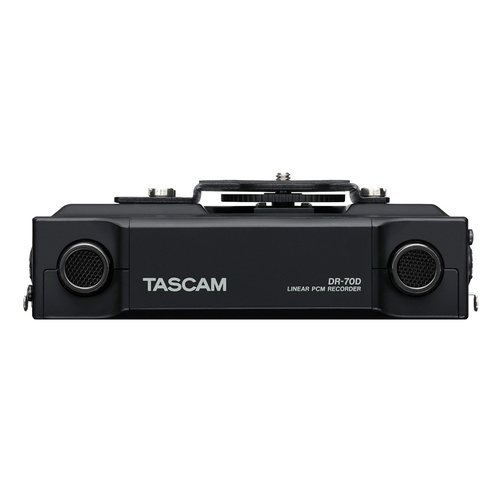 TASCAM DR-70D 单反录音机 摄像机拍摄录音 中文菜单 微电影同期录音机