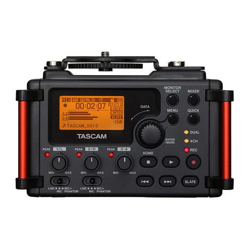 DR-60DMKII 4轨数字录音机 单反微电影录音笔 影视同期录音笔