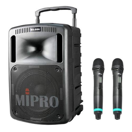 MA-808  10寸户外PA拉杆多功能无线扩声音箱(配手持麦)