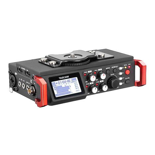 TASCAM DR-701D 6轨录音机 单反/摄像机拍摄录音 中文菜单 拍摄同步录音机