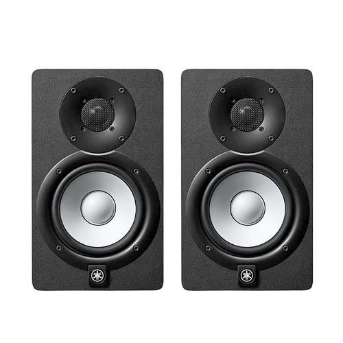 雅马哈(YAMAHA) 印尼进口HS5 5寸有源监听音箱 新白盆 黑色 (对)