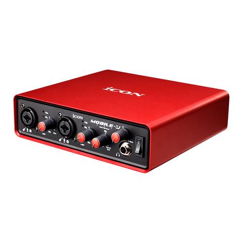 艾肯(iCON) MOBILE·U VST 出色红卡 网络K歌录音外置声卡