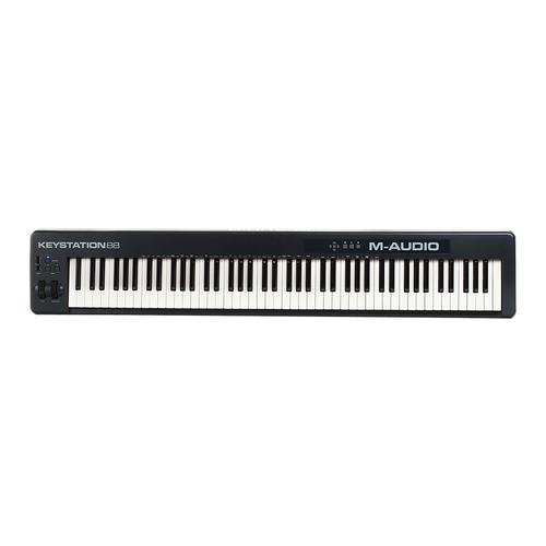 美奥多(M-AUDIO) Keystation 88 半配重MIDI键盘 88es升级版
