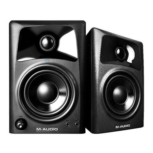 美奥多(M-AUDIO) AV42 4寸 专业级 桌面有源 监听音箱