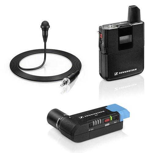 森海塞尔(Sennheiser) AVX-ME2 SET  AVX 无线领夹麦 采访影视摄像机同期话筒套装 无线小蜜蜂