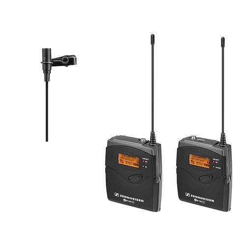 森海塞尔(Sennheiser) ew 112-p G3 同期无线采访领夹式麦克风套装 摄像机单反可用 无线小蜜蜂