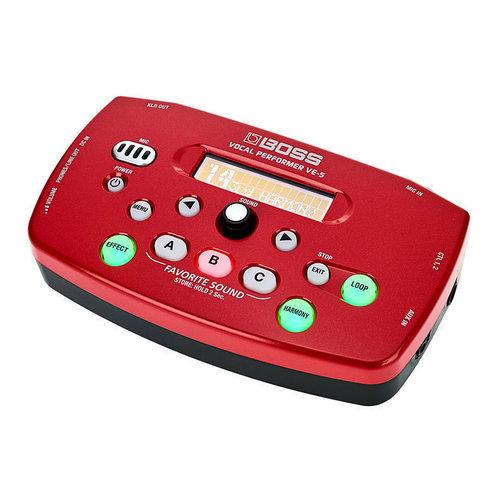 VE-5 人声效果器 K歌神器 (红色)