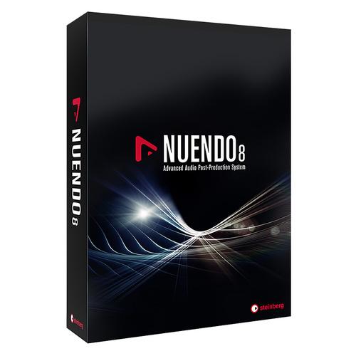 雅马哈(YAMAHA) steinberg Nuendo 8 音视频录音后期编曲制作软件 专业版