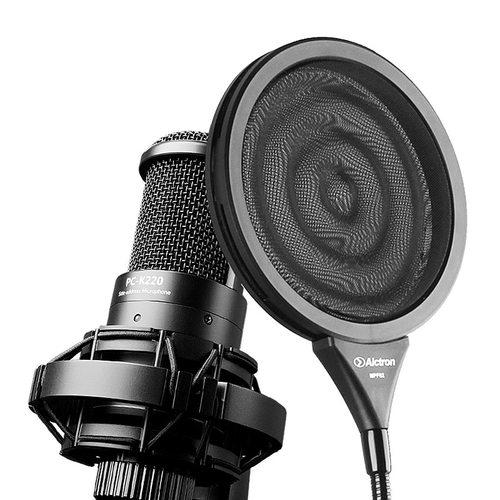 奥创(Alctron) MPF02 双层金属波纹麦克风录音防喷网